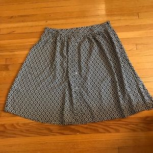 Loft Mini Flowy Skirt